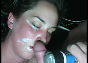 Cumming on sister