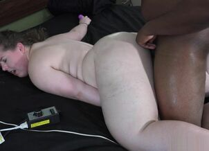Bbw interracial tube