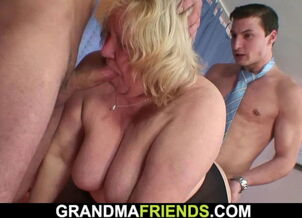 Granny blowjob tube