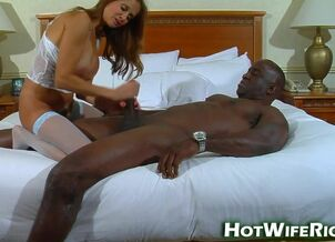 Huge black cock wife